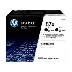 HP 87X Original Pack de 2...