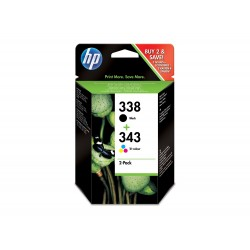 HP 338 Original Pack de 2...