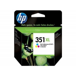 Cartucho de tinta original HP 351XL de alta capacidad Tri-color