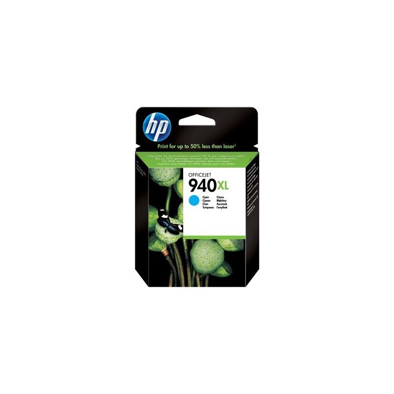 Cartucho de tinta original HP 940XL de alta capacidad cian
