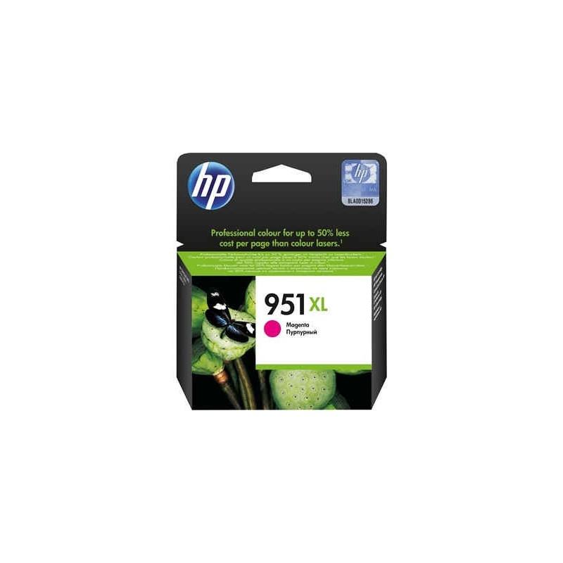 Cartucho de tinta original HP 951XL de alta capacidad magenta