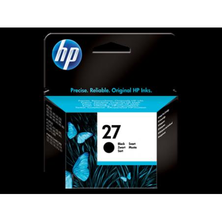 Cartucho de tinta original HP 27 negro