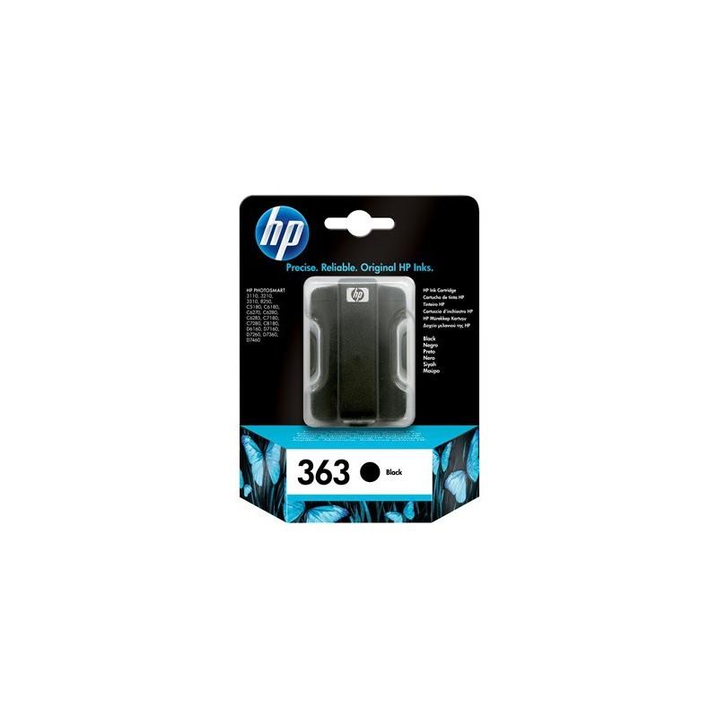 Cartucho de tinta original HP 363 negro