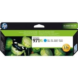 Cartucho de tinta original HP 971XL de alta capacidad cyan
