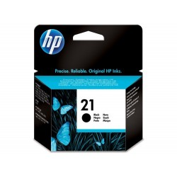 Cartucho de tinta original HP 21 negro