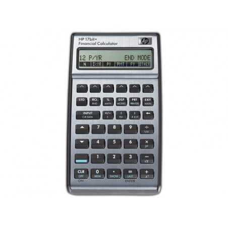Calculadora empresarial financiera HP 17bII+