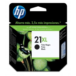 Cartucho de tinta original HP 21XL