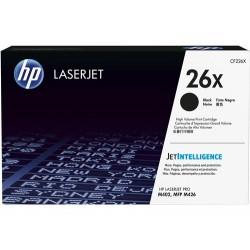 Cartucho de tóner original HP LaserJet 26X de alta capacidad negro