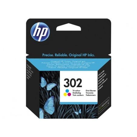 Cartucho de tinta original HP 302 tricolor