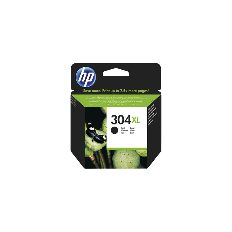 Cartucho de tinta Original HP 304XL negro