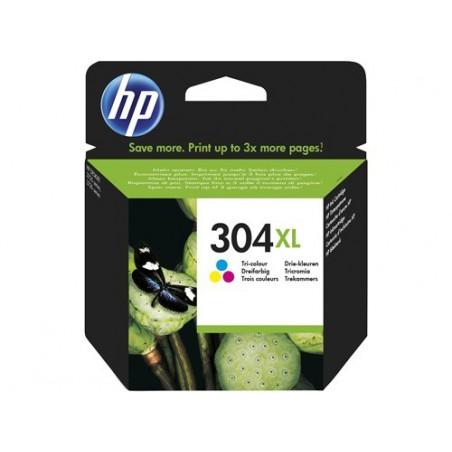 Cartucho de tinta Original HP 304XL tricolor