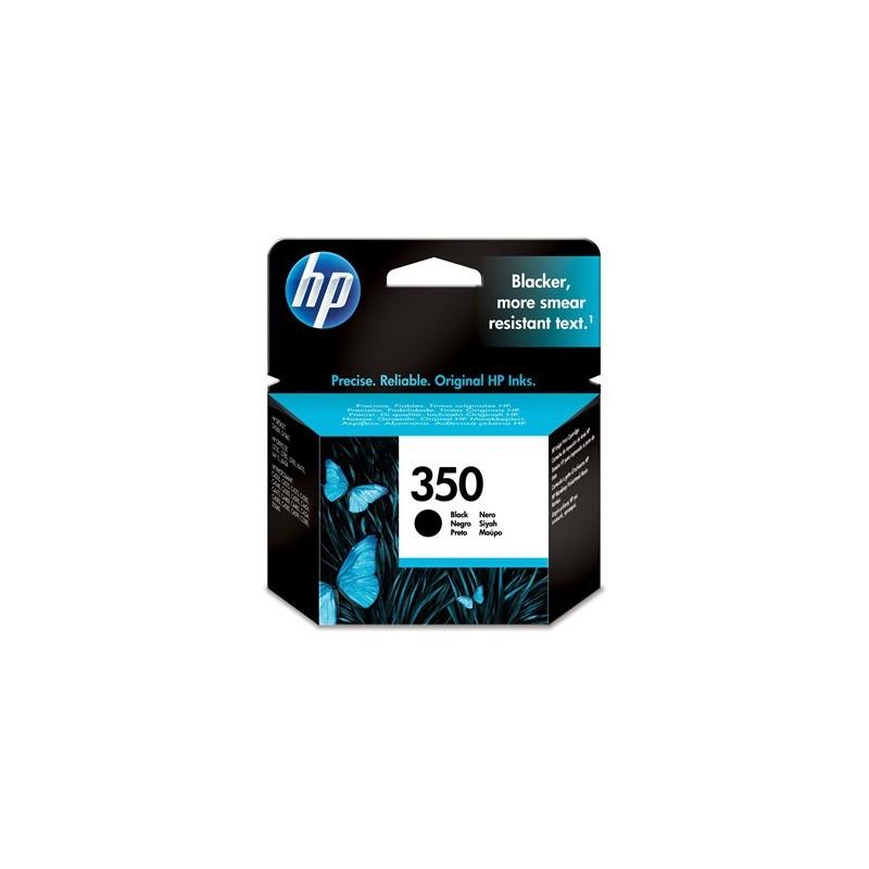 Cartucho de tinta original HP 350 negro