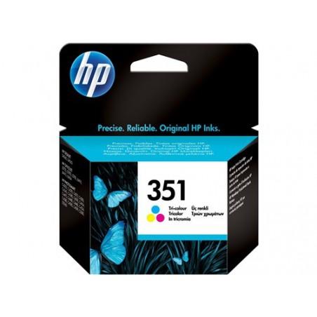 Cartucho de tinta original HP 351 Tri-color