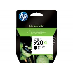 Cartucho de tinta negra HP 920XL Officejet