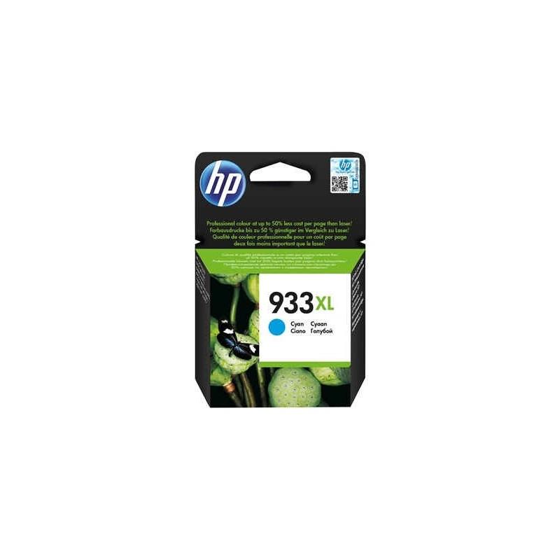 Cartucho de tinta original HP 933XL de alta capacidad cian