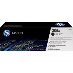 Cartucho de tóner original LaserJet HP 305X de alta capacidad negro