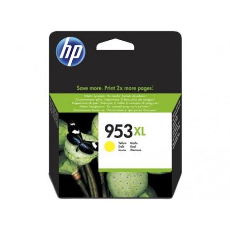 Cartucho de tinta Original HP 953XL de alto rendimiento amarillo