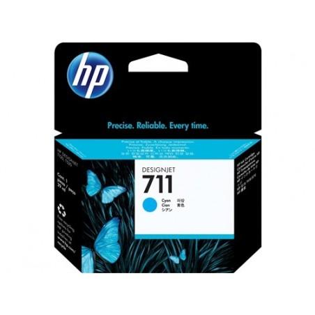 Cartucho de tinta HP 711 cian de 29 ml