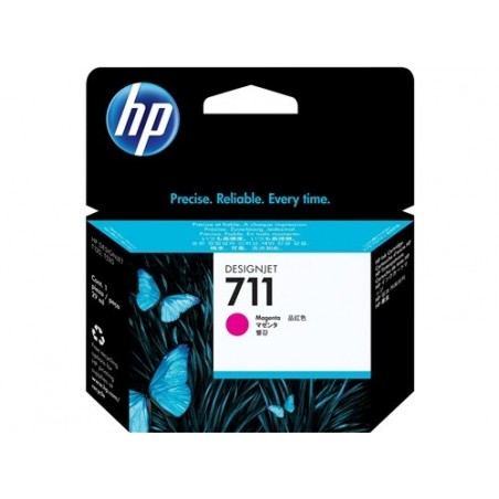 Cartucho de tinta HP 711 magenta de 29 ml