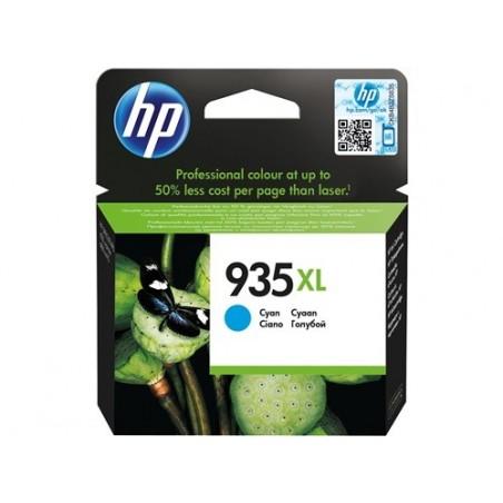 Cartucho de tinta original HP 935XL de alta capacidad cian