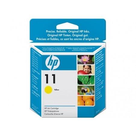 Cartucho de tinta original HP 11 amarillo