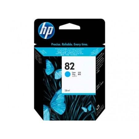 Cartucho de tinta DesignJet HP 82 cian de 69 ml