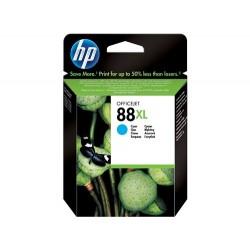 Cartucho de tinta original HP 88XL de alta capacidad cian
