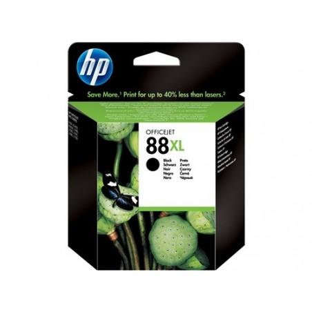 Cartucho de tinta original HP 88XL de alta capacidad negro