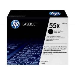 Cartucho de tinta original HP 55X de alta capacidad negro