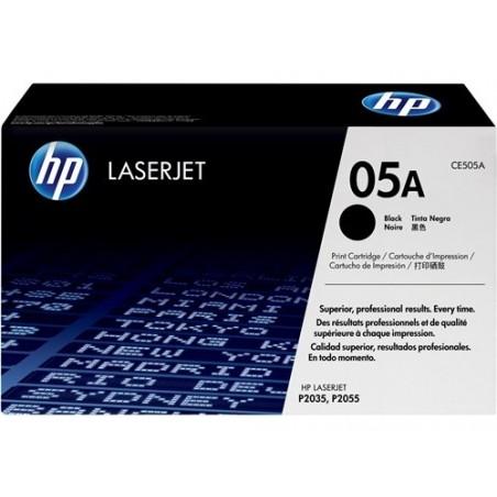 Cartucho de tóner negro HP 05A LaserJet