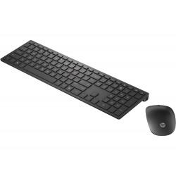 Teclado y ratón inalámbricos HP Pavilion 800 (negro)
